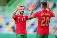 Video: Bruno Fernandes scores brace v Israel in Euro 2020 warm-up match