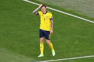 Victor Lindelof reacts as Sweden edge closer to Euro 2020 knockout stages