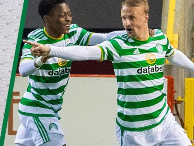 Video: Leigh Griffiths gets his goal as Celtic equalise in the final moments vs Aberdeen