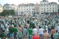 Photo Of The Day: Celtic Fans In Lisbon 2006