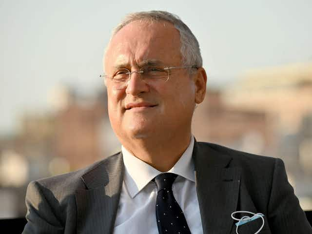 "President Claudio Lotito: ""Since 1900, Lazio Have Always Supported the City of Rome's Values"""