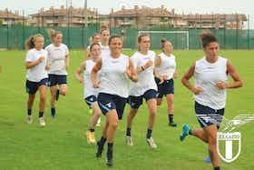 Article image: https://image-service.onefootball.com/crop/face?h=810&image=https%3A%2F%2Ficdn.thelaziali.com%2Fwp-content%2Fuploads%2F2021%2F07%2Flazio-women-pre-season.jpeg&q=25&w=1080