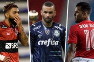 Em quais jogos Flamengo, Palmeiras e São Paulo serão desfalcados por conta da convocação da seleção?