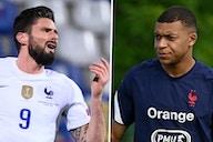Tensão entre Mbappé e Giroud ameaça França na Eurocopa