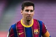 """Ronaldinho pede permanência de Messi no Barcelona: """"Tem que ficar"""""""