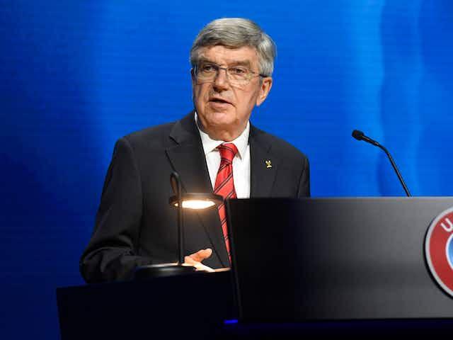 European Super League: IOC president Bach says 'profit-driven approach' threatens sport