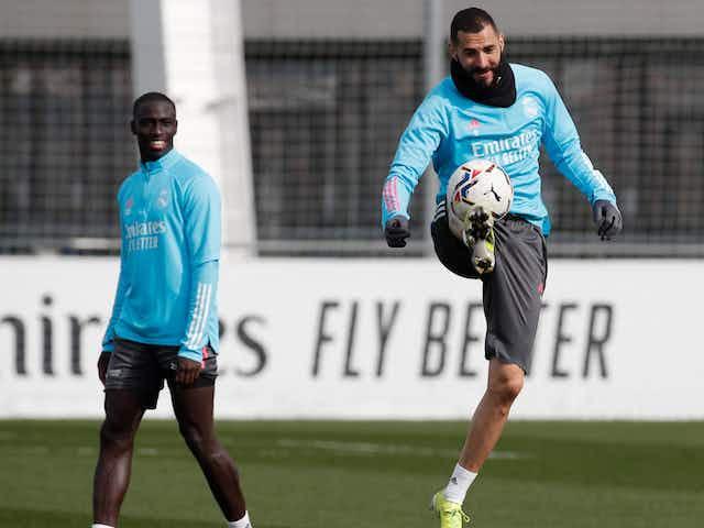 Zidane labels Benzema 'a joy for football' as talisman prepares for Madrid derby return