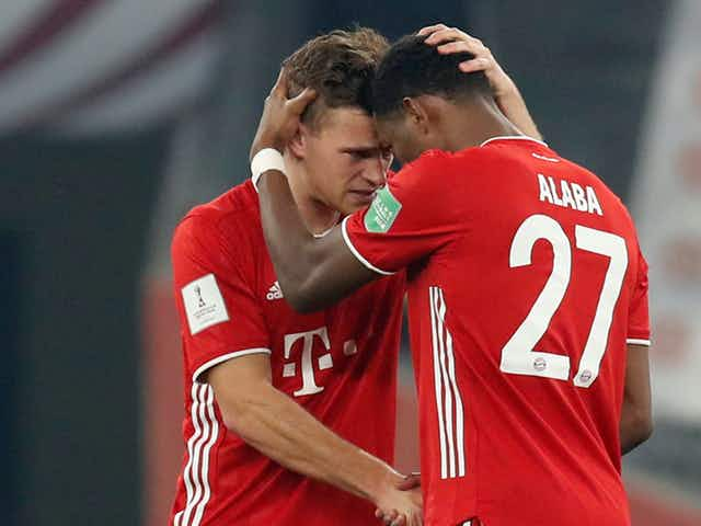 Real Madrid 'a worthy club' for Alaba, says Bayern Munich team-mate Kimmich