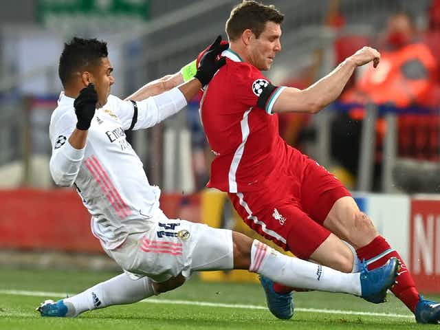 Milner: Liverpool had enough chances to go through against Real Madrid