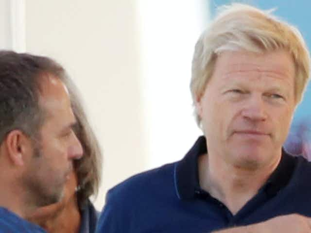Flick and Kahn talk but Bayern boss denies Germany job was on the agenda