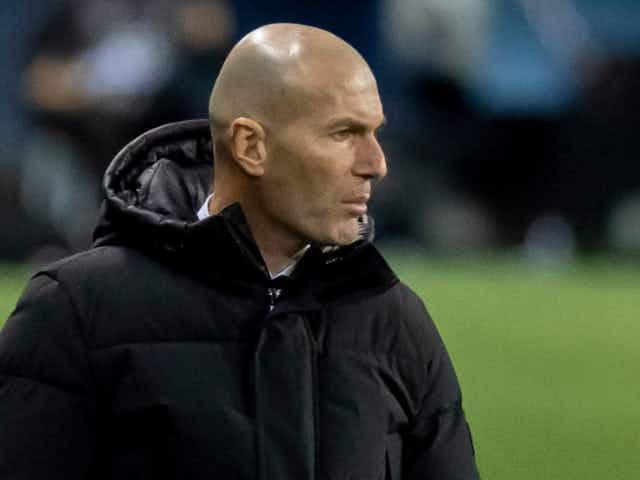 Zidane demands 'maximum intensity' from Madrid against Liverpool