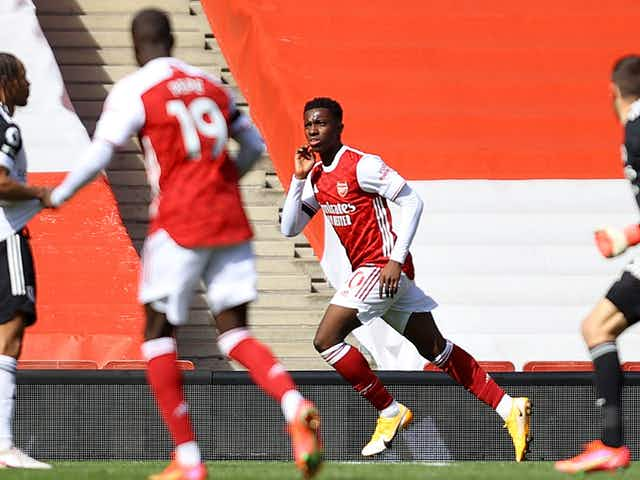 Arsenal 1-1 Fulham: Nketiah grabs dramatic equaliser to nudge Cottagers closer to the drop