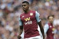 Aston Villa striker Wesley sent off after just SEVEN minutes against Stoke