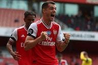Arsenal midfielder Granit Xhaka refuses to shut down Roma talk
