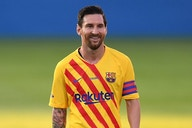 Free agent Messi touches down in Barcelona this morning