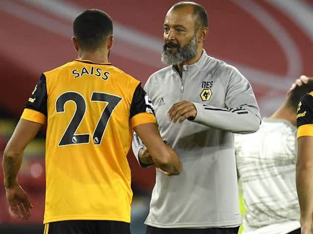 Wolves boss Nuno: I've huge admiration for Sheffield Utd