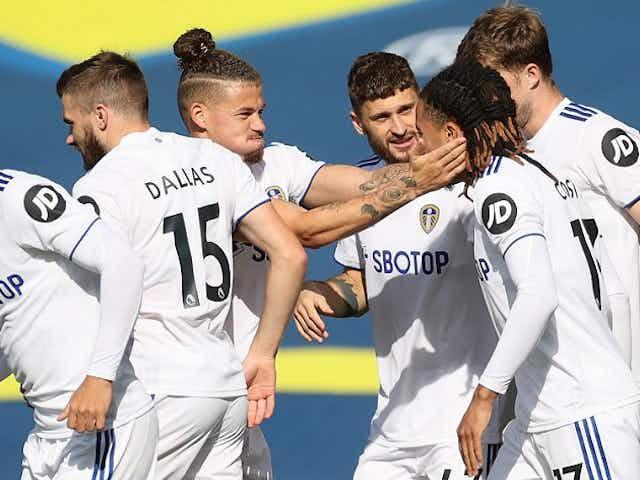 Leeds defender Diego Llorente makes special goal celebration