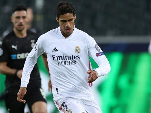 Man Utd determined to sign Real Madrid defender Raphael Varane