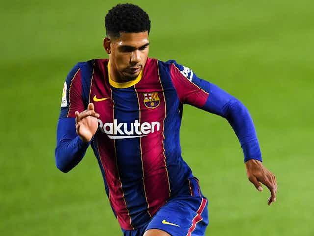 Barcelona defender Araujo reflects on his eventful game in victory over Getafe