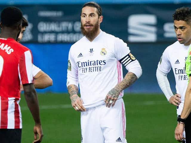Real Madrid president Florentino casts doubt over Ramos contract