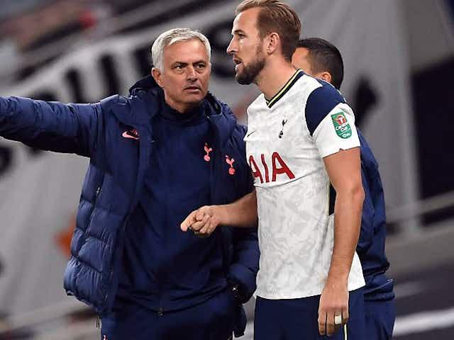 Kane thanks Mourinho after Spurs dismissal