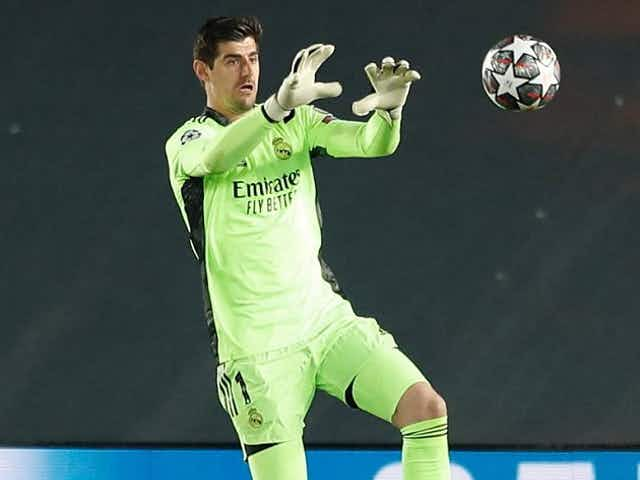Real Madrid goalkeeper Courtois delighted with clean sheet at Liverpool