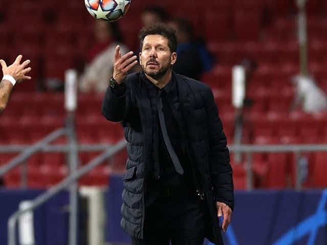 Atletico Madrid coach Diego Simeone happy with decision to withdraw from Super League