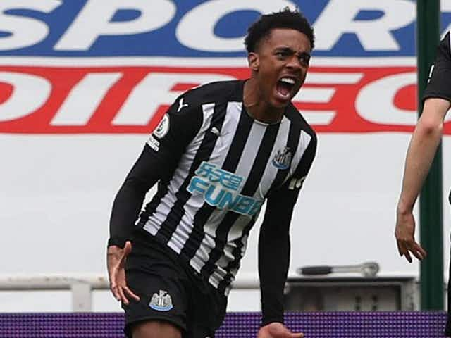 Newcastle matchwinner Willock: We're not yet safe