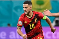 Belgium coach Martinez delighted with form of Real Madrid attacker Hazard