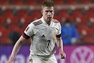Man City ace De Bruyne: I've had to avoid heading in Belgium training