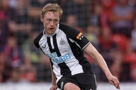 Newcastle midfielder Longstaff determined to score more goals