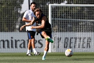 """Luka Modrić: """"He vuelto con mucha ilusión y con ganas de trabajar"""""""