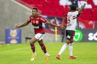 Flamengo goleia o São Paulo em noite inspirada de Bruno Henrique: 5 a 1