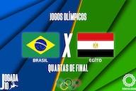 Brasil x Egito: quem joga e onde assistir