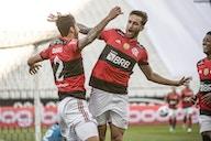Três a um. O incrível foi o fato de o Flamengo levar gol