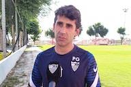 Paco Gallardo: «Estoy muy contento e ilusionado por la nueva temporada».