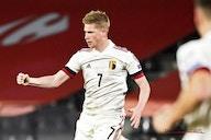 Pas de miracle : Kevin De Bruyne reste en Belgique et prépare le second match