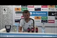 Die Pressekonferenz des TSV 1860 München vor dem Auswärtsspiel gegen Wehen Wiesbaden