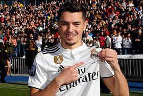 Imagem do artigo: https://image-service.onefootball.com/resize?fit=max&h=459&image=https%3A%2F%2Fmaisqueumjogo.com.br%2Fwp-content%2Fuploads%2F2019%2F01%2FBrahim-D%C3%ADaz-Real-Madrid.jpg&q=25&w=1080
