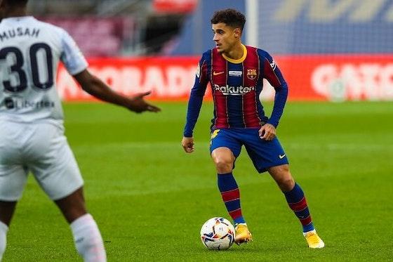 Imagem do artigo: https://image-service.onefootball.com/resize?fit=max&h=720&image=https%3A%2F%2Fmaisqueumjogo.com.br%2Fwp-content%2Fuploads%2F2020%2F12%2FPhilippe-Coutinho-Barcelona-2212.jpg&q=25&w=1080