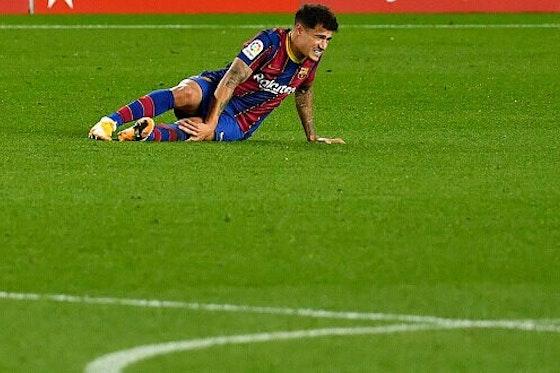 Imagem do artigo: https://image-service.onefootball.com/crop/face?h=810&image=https%3A%2F%2Fmaisqueumjogo.com.br%2Fwp-content%2Fuploads%2F2020%2F12%2FPhilippe-Coutinho-Barcelona-301220-e1614081058875.jpg&q=25&w=1080