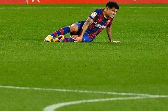 Imagem do artigo: https://image-service.onefootball.com/resize?fit=max&h=594&image=https%3A%2F%2Fmaisqueumjogo.com.br%2Fwp-content%2Fuploads%2F2020%2F12%2FPhilippe-Coutinho-Barcelona-301220-e1614081058875.jpg&q=25&w=1080