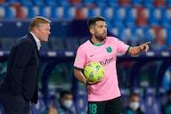 Koeman acusa golpe e fala em tom de despedida no Barcelona