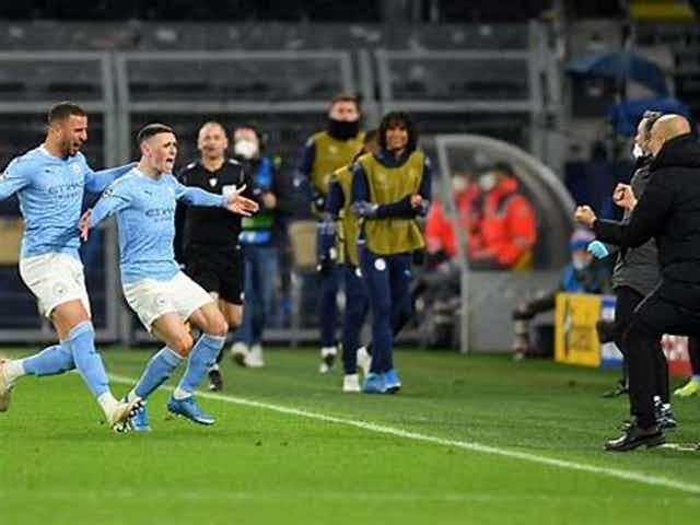 Guardiola lauds his side for 'building history' after City beat Dortmund