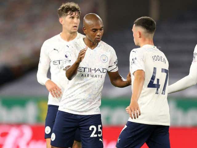 Fernandinho hails City's character after Villa win