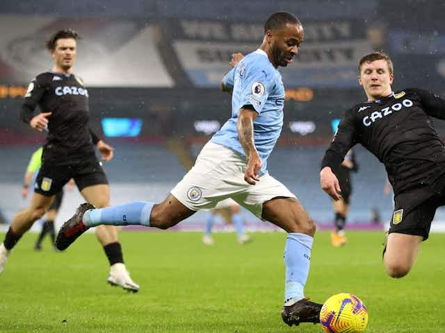 Which TV channel is Aston Villa v City on?