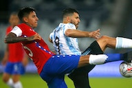 Aguero a late sub as Argentina held in Copa America opener