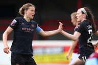 White bags birthday goal but City fall short in FA WSL title race
