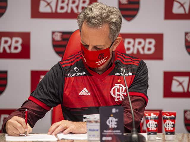 Meta da diretoria do Flamengo é chegar pelo menos à semifinal da Libertadores
