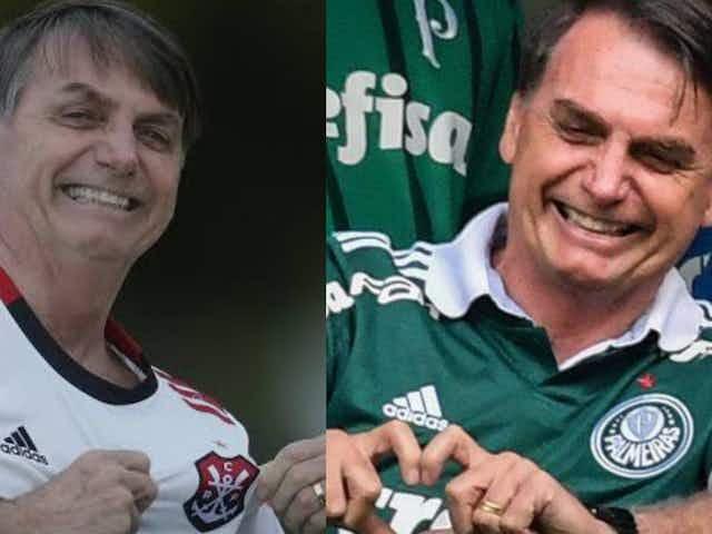 Flamengo e Palmeiras são convidados para café da manhã com Jair Bolsonaro